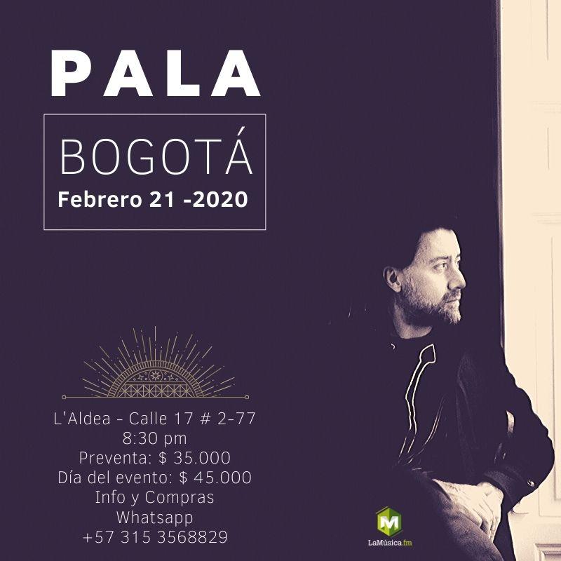 Pala regresa a Bogotá