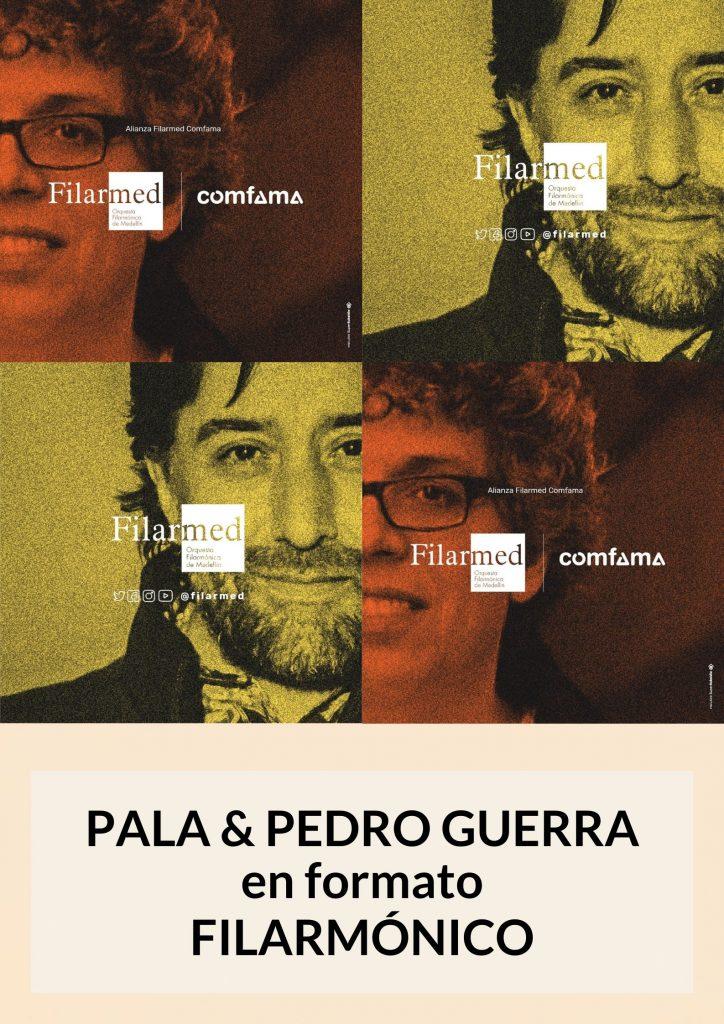 Pala y Pedro Guerra Filarmónico
