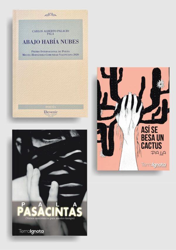 Promoción 3 libros